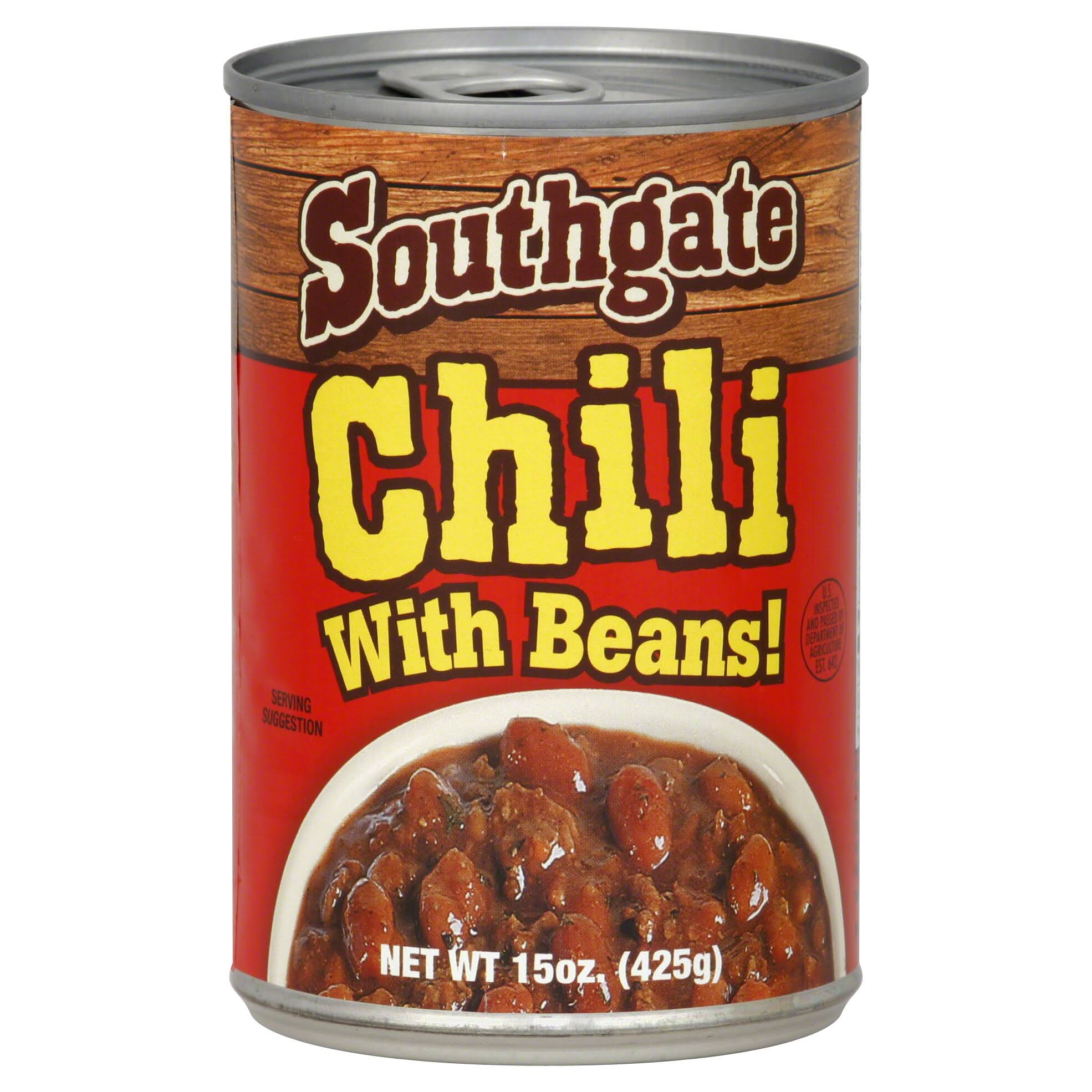 Southgate Chili with Beans - 15oz
