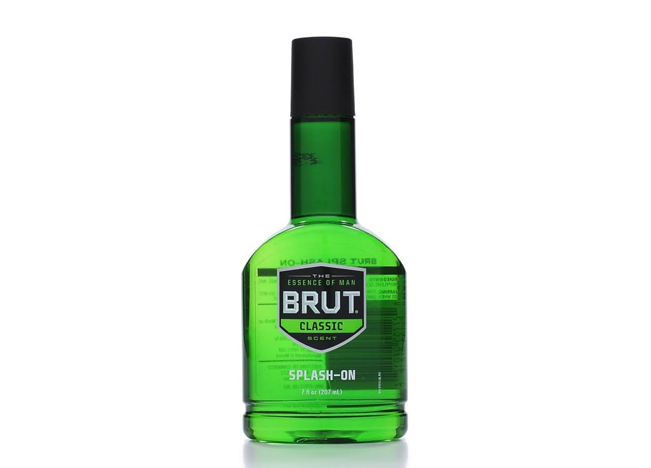 Brut Splash-On Lotion - Classic, 7oz