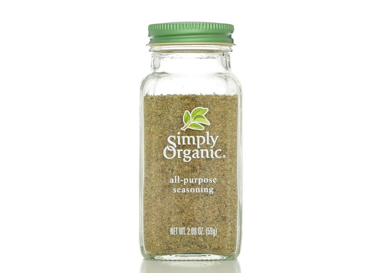 Simply Organic Organic All Purpose Seasoning - 59g