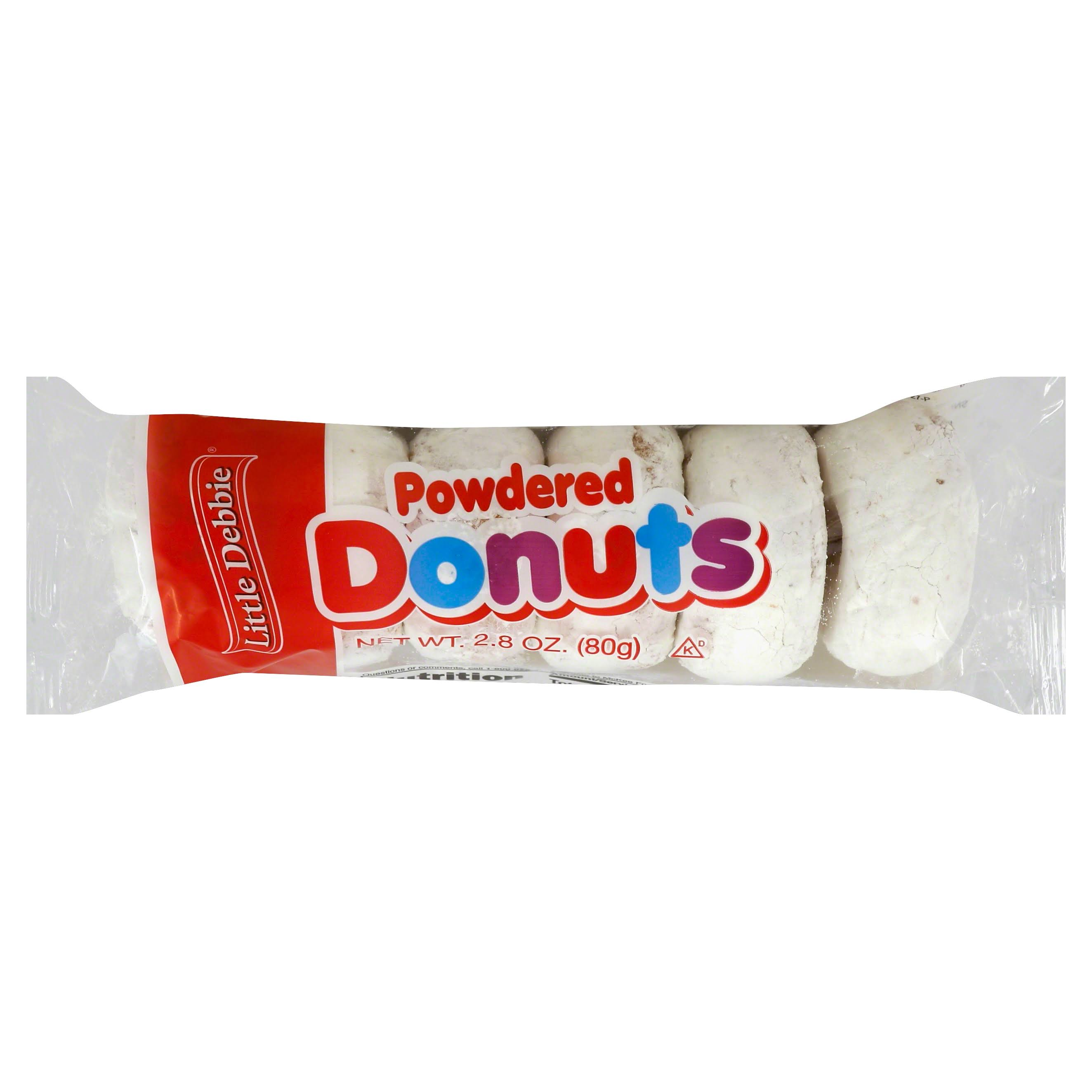 Little Debbie Powdered Mini Donuts - 3oz