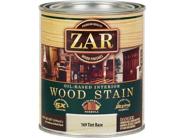 Zar Oil-based Wood Stain - 169 Tint Base, 1qt