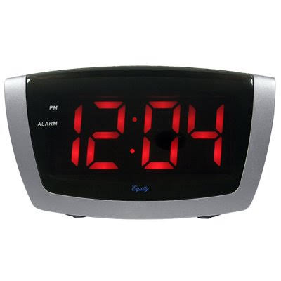 La Crosse 75906 1.8 inch Red LED Alarm Clock