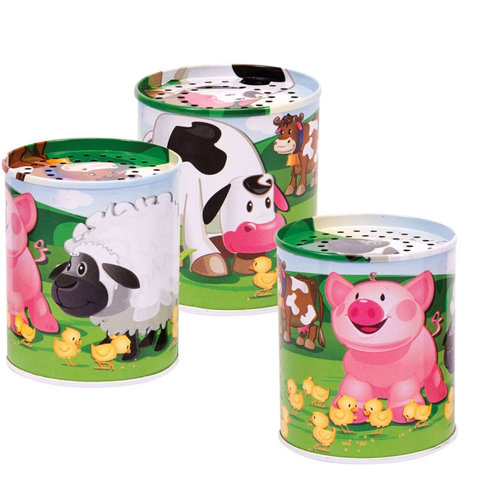 Schylling Animal Sound Maker Tin