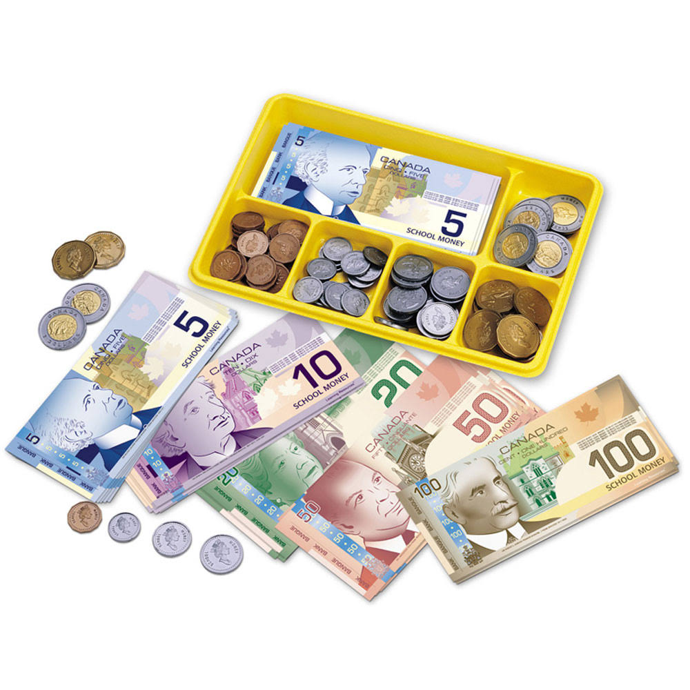 Canadian Currency X-Change Activity Set - 211pcs