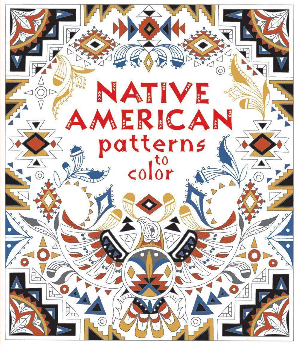Native American Patterns to Color IR [Book]