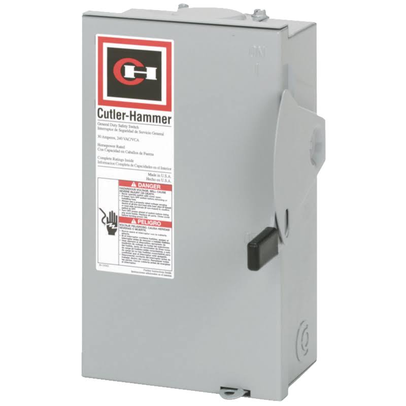 Eaton Corporation 30a Safety Switch DG221NRB