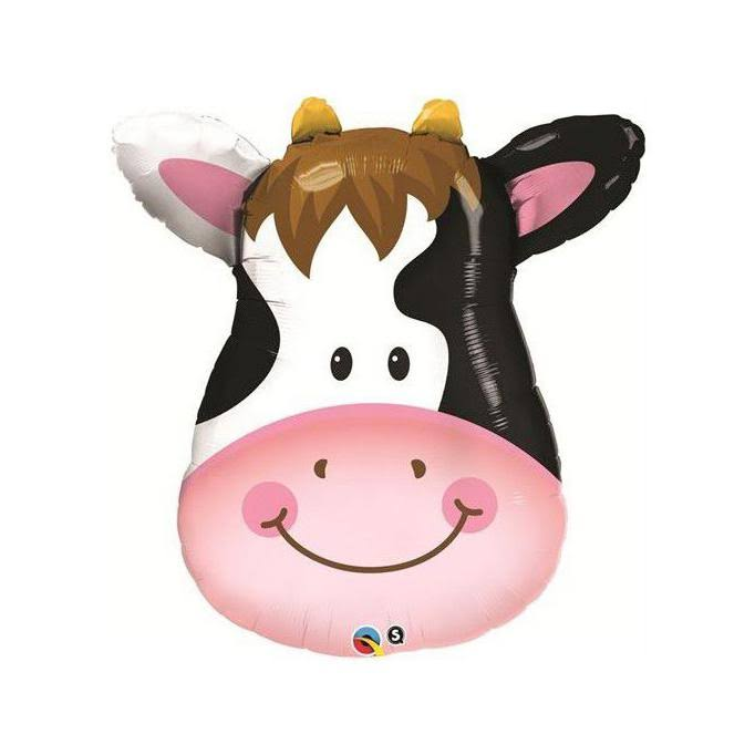 Qualatex Cow Shaped Foil Balloon