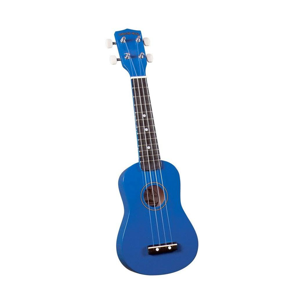 Diamond Head DU107 Blue Soprano Ukulele