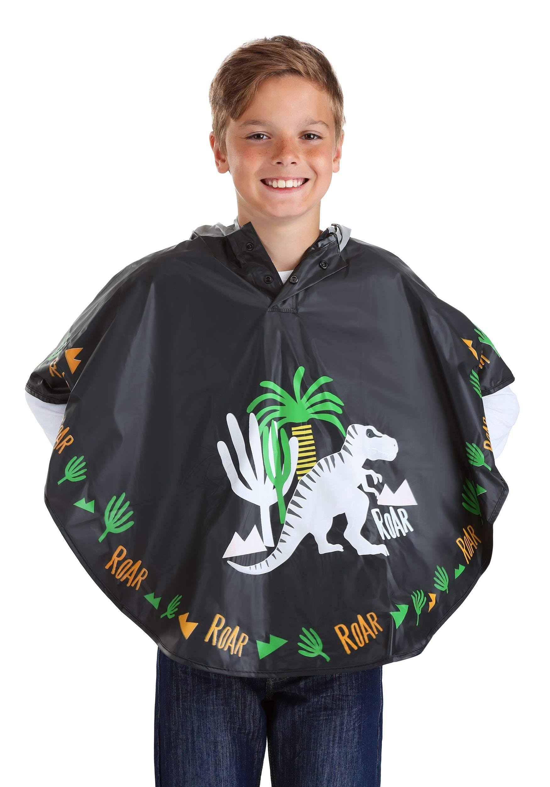 Floss & Rock Color Changing Poncho Dinosaur
