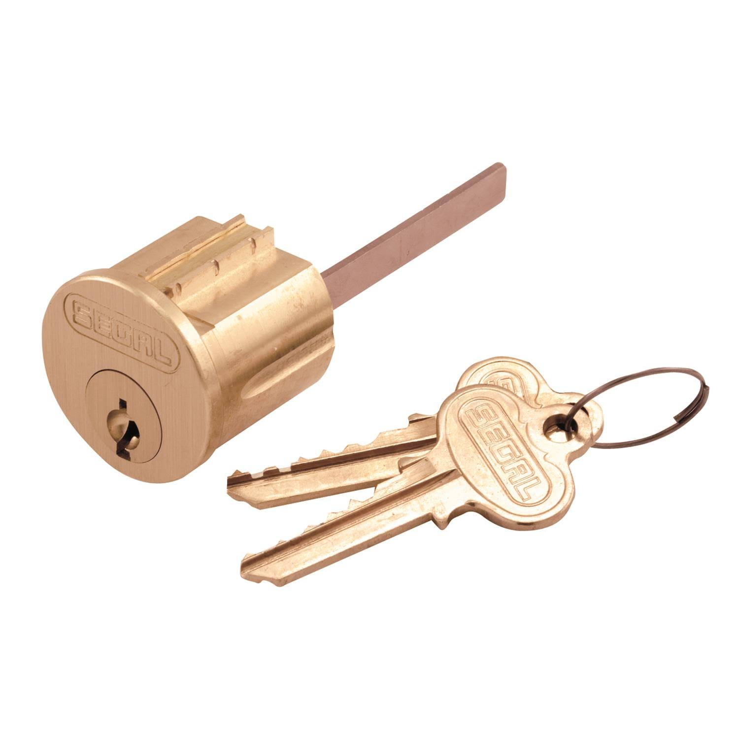 Prime-Line Products Key Lock Cylinder - Brass