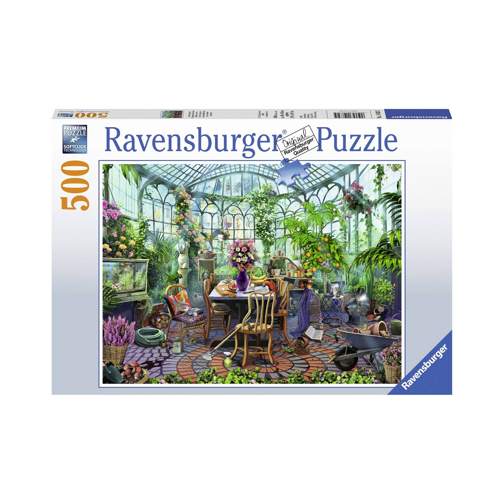 Ravensburger Greenhouse Morning 500 Piece Puzzle