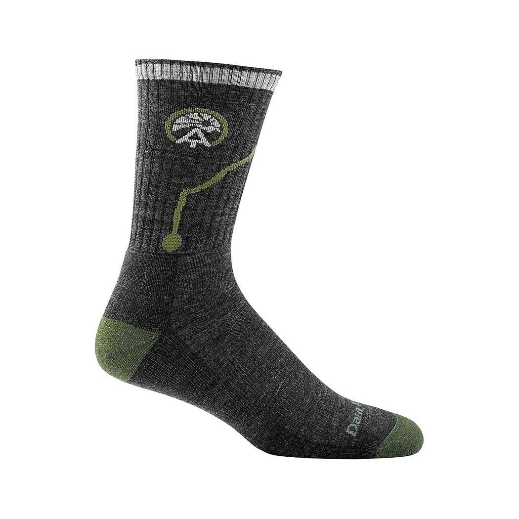 Darn Tough Men's Atc Micro Crew Cushion Sock - Charcoal, X-Large