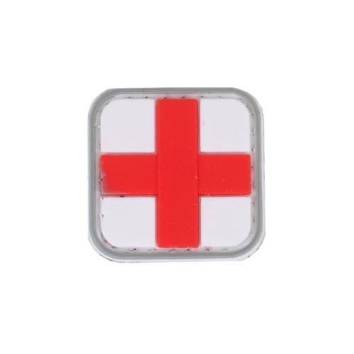 5ive Star Gear Red Cross PVC Morale Patch - 1 x 1 in