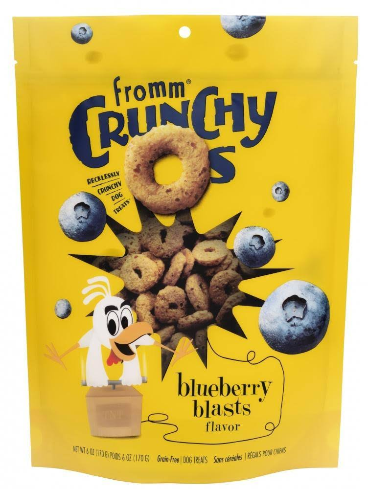 Fromm Crunchy O's Blueberry Blasts Dog Treats - 6 oz