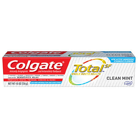 Colgate Total Clean Mint Toothpaste - 4.8 oz