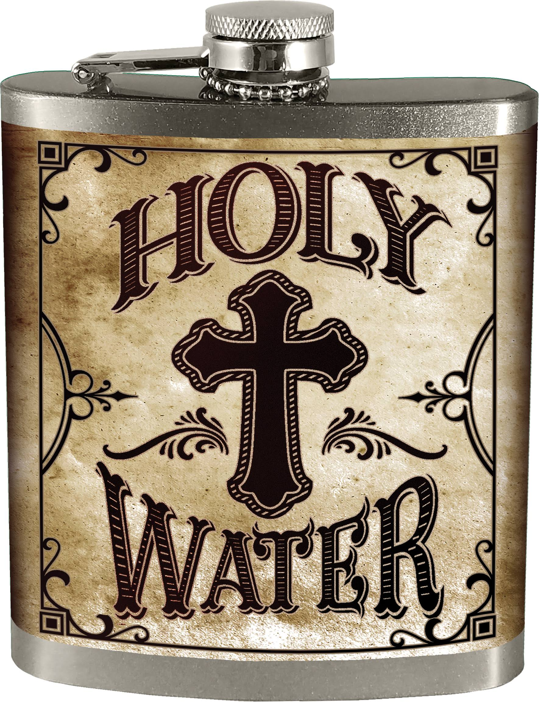 Spoontiques 15737 Holy Water Hip Flask