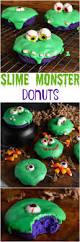 Krispy Kreme Halloween Donuts Calories by Slime Monster Halloween Donuts Recipe Halloween Donuts Spooky