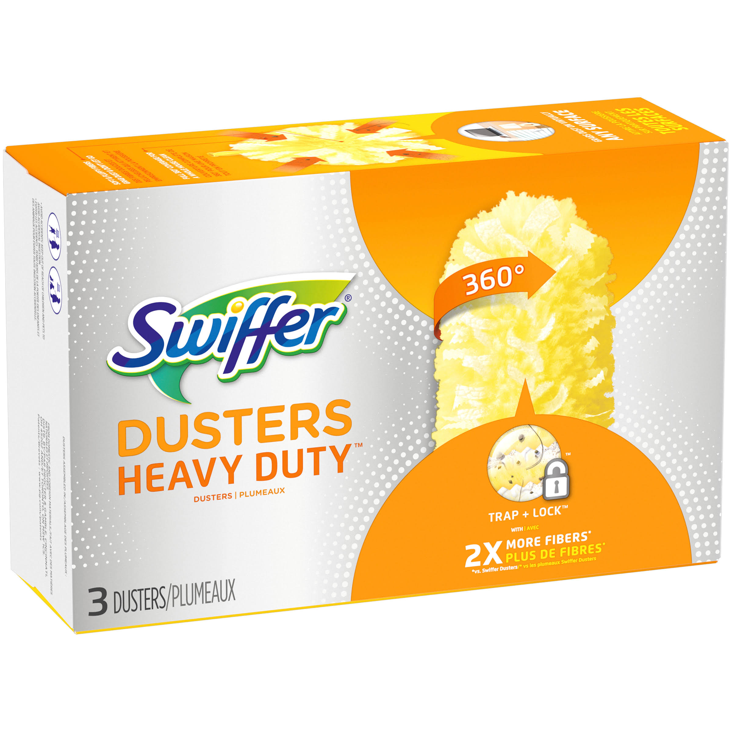 Swiffer 360° Heavy Duty Disposable Dusters - 3pk