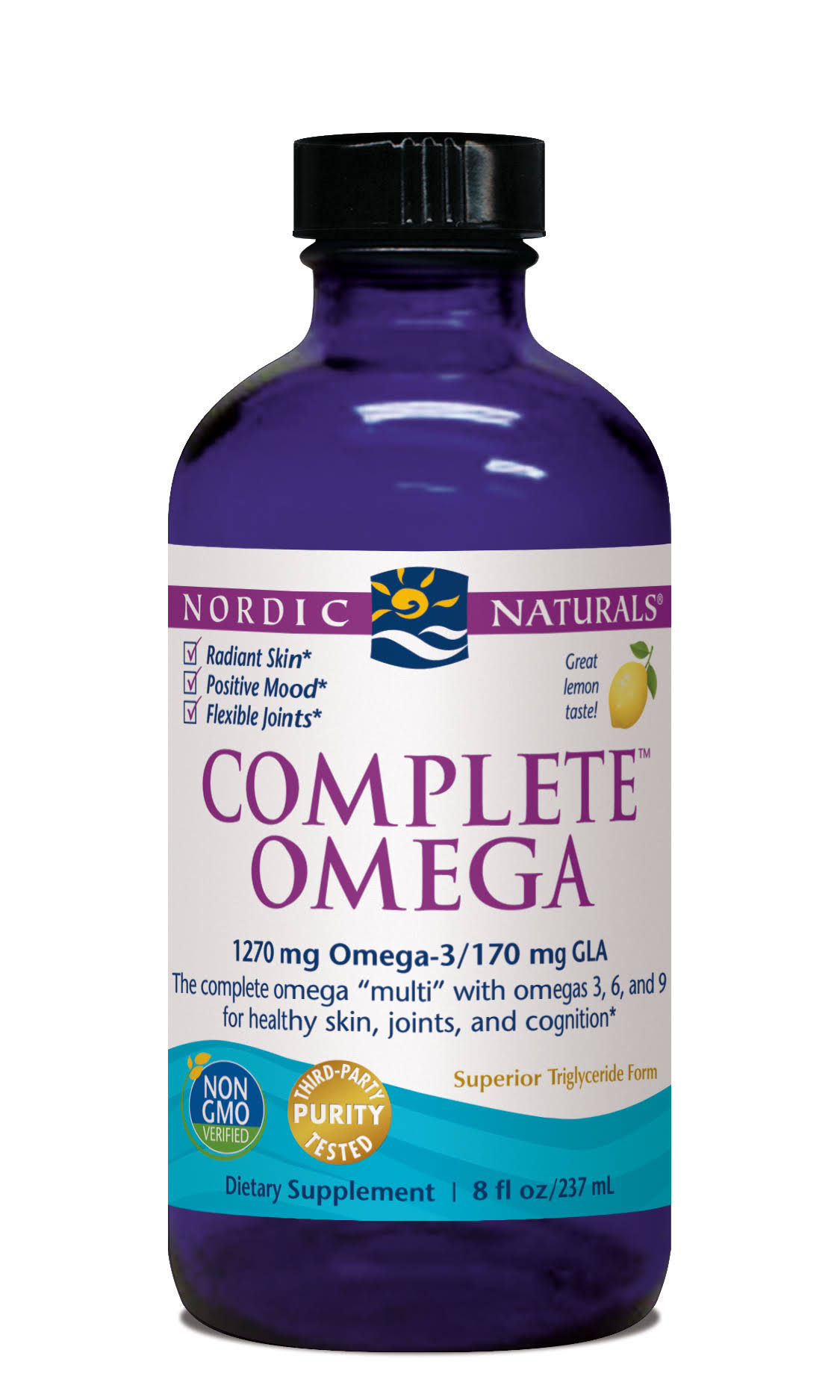 Nordic Naturals Complete Omega Supplement - Liquid Lemon, 8oz