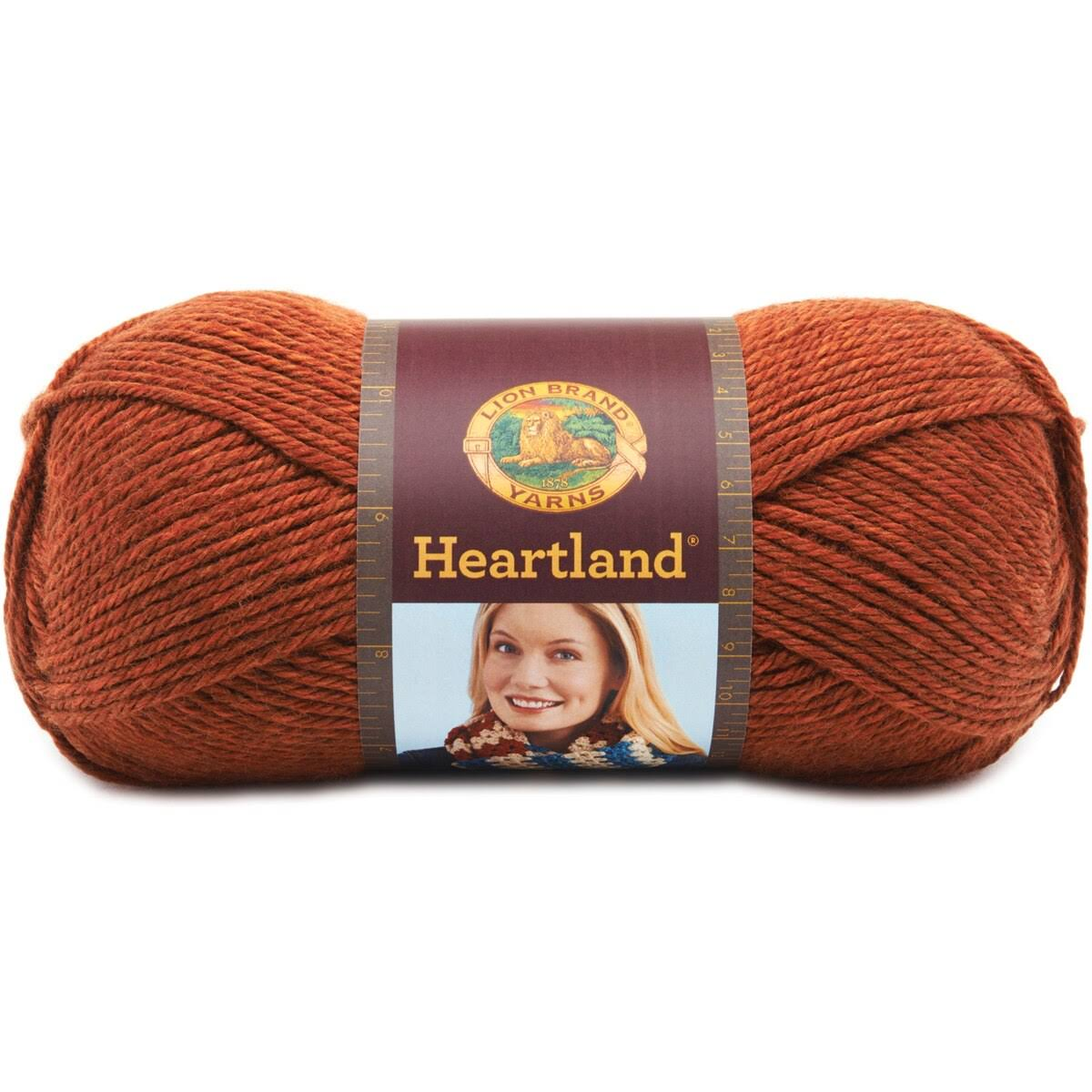 Lion Brand Heartland Yarn - Yosemite, 251yds