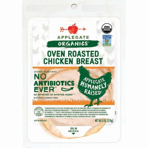 Applegate Farms Organic Roasted Chicken Breast