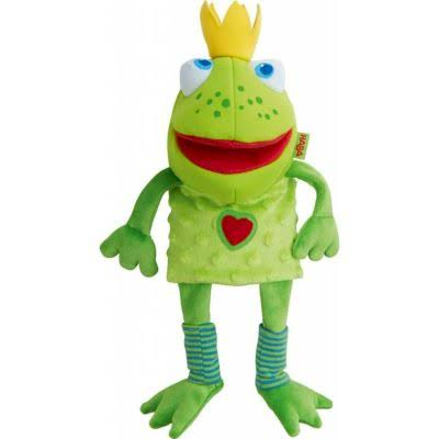Haba 300490 Frog King Glove Puppet