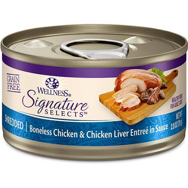 Wellness Signature Selects Shredded Chicken & Chicken Liver Entree