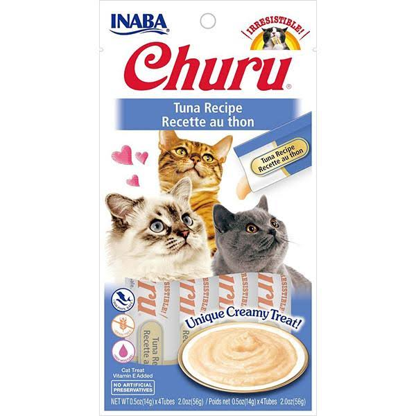 Inaba Churu Tuna Puree Lickable Cat Treat