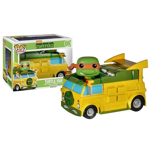 Funko Pop Rides Teenage Mutant Ninja Turtles Vinyl Figure - Turtle Van