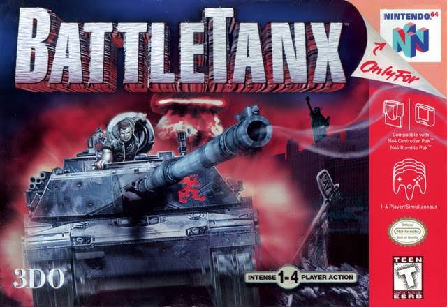 Battle Tanx - Nintendo 64
