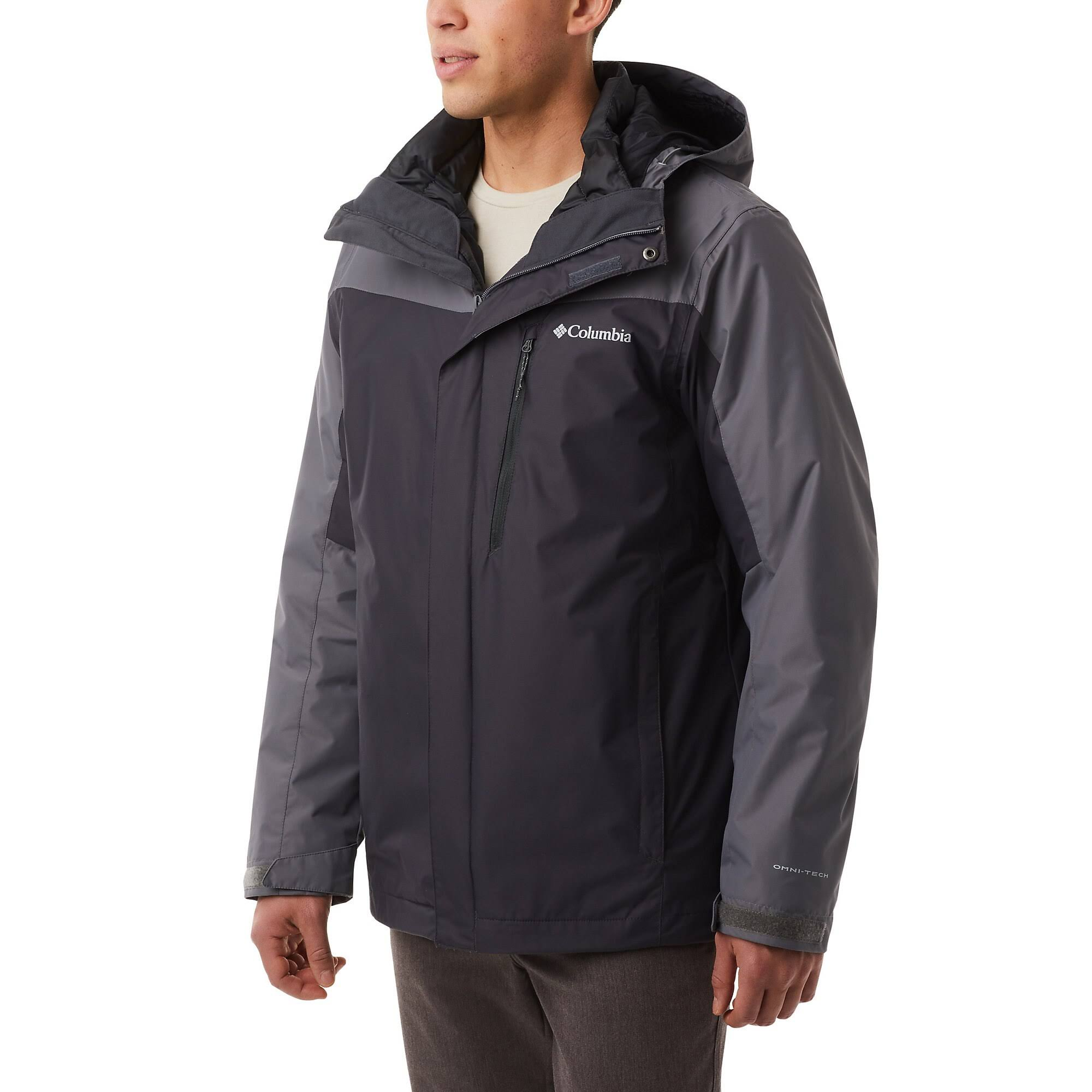 Columbia Men's Whirlibird IV Interchange Jacket - 2XT - Shark/City Grey