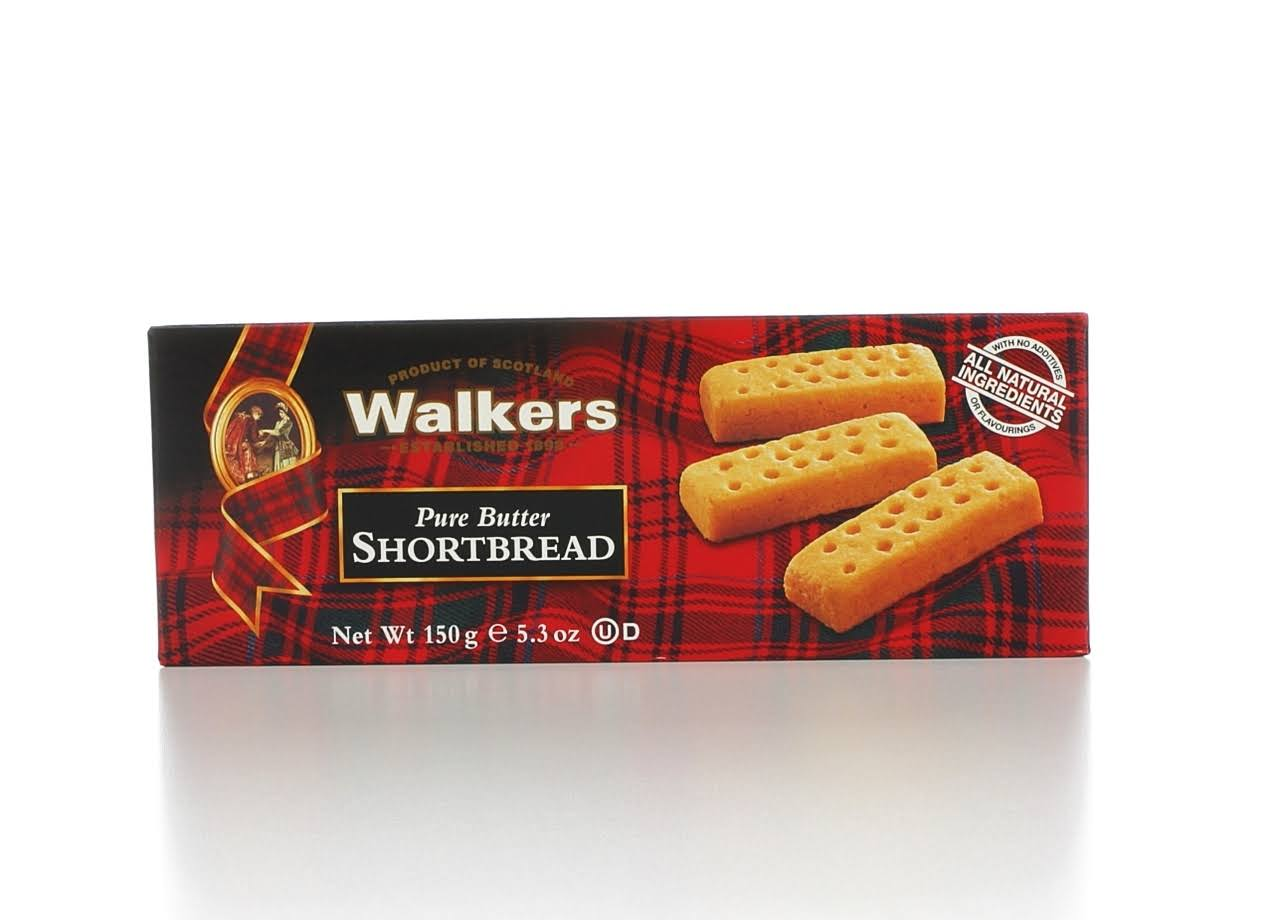 Walkers Pure Butter Shortbread Cookies - 150g