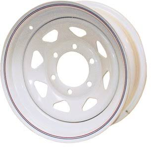 Loadstar 15x6 Spoke 6H-5.5 Trailer Wheel - 20532