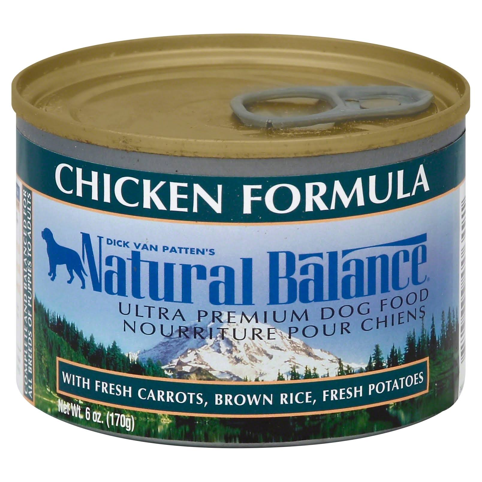 Natural Balance Ultra Premium Dog Food - Chicken, 170g