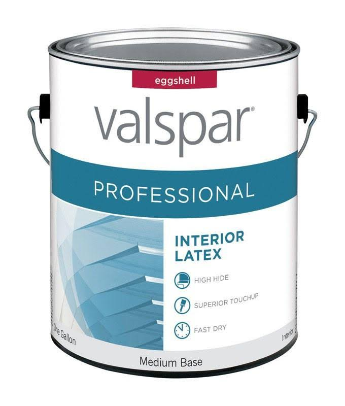 Valspar Paint Interior Eggshell Medium Base 1 GL Pack of 4