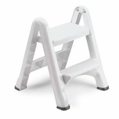 Rubbermaid Folding Step Stool - 2 Step