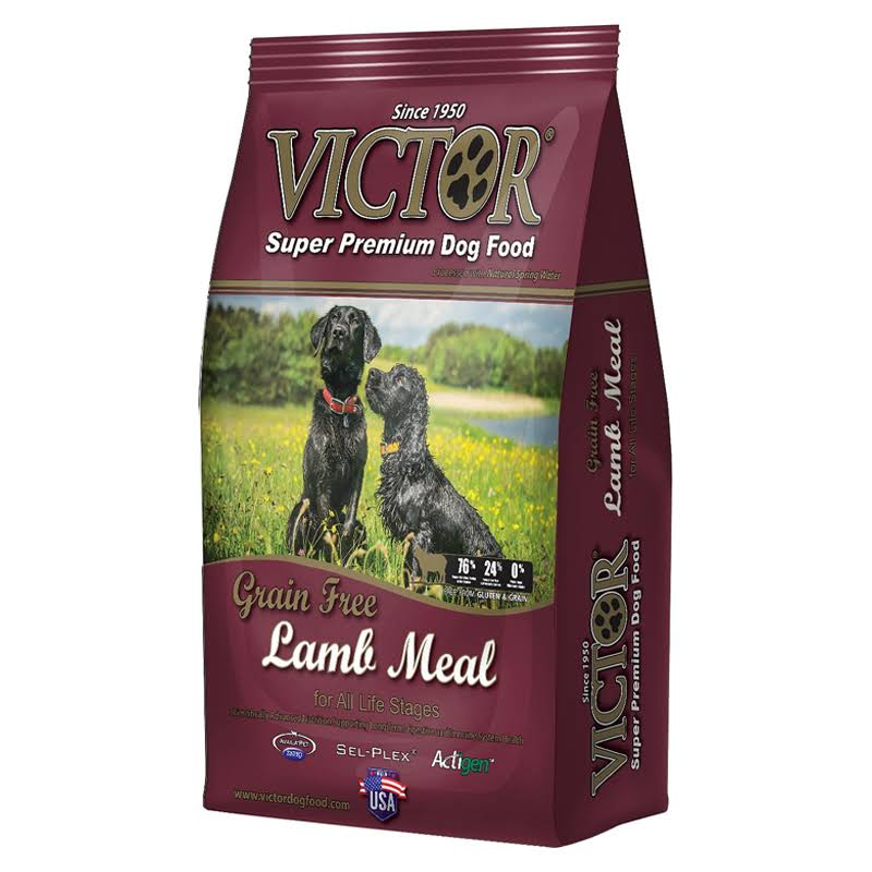 Victor Prairie Land Lamb Grain-Free Dry Dog Food, 30-lb Bag