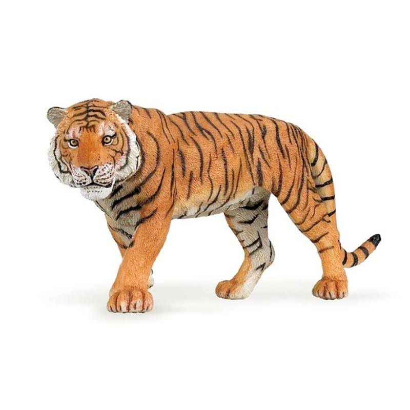 Papo Wild Animal Tiger Figurine Toy