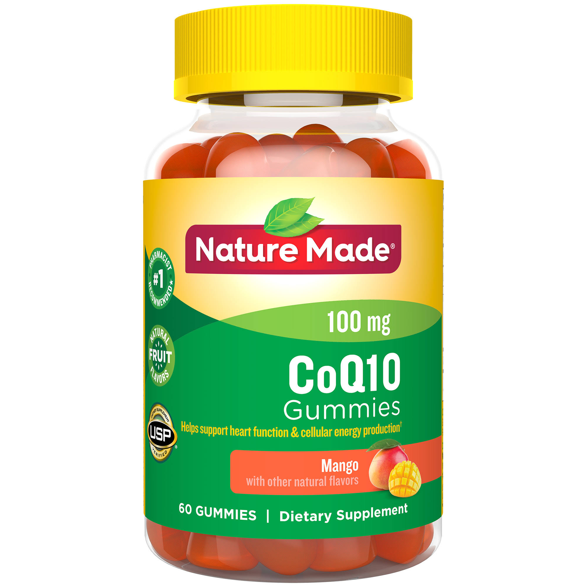 Nature Made Coq10 Supplement - 60 Adult Gummies