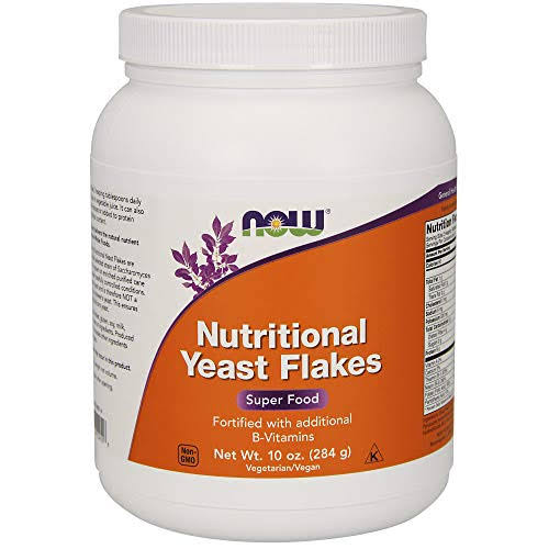 Now Foods Nutritional Yeast Flakes - 284g