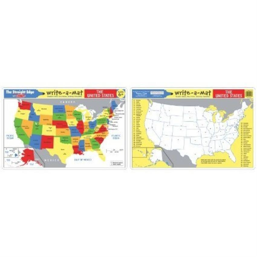 Melissa and Doug Learning Mat - The United States 5038