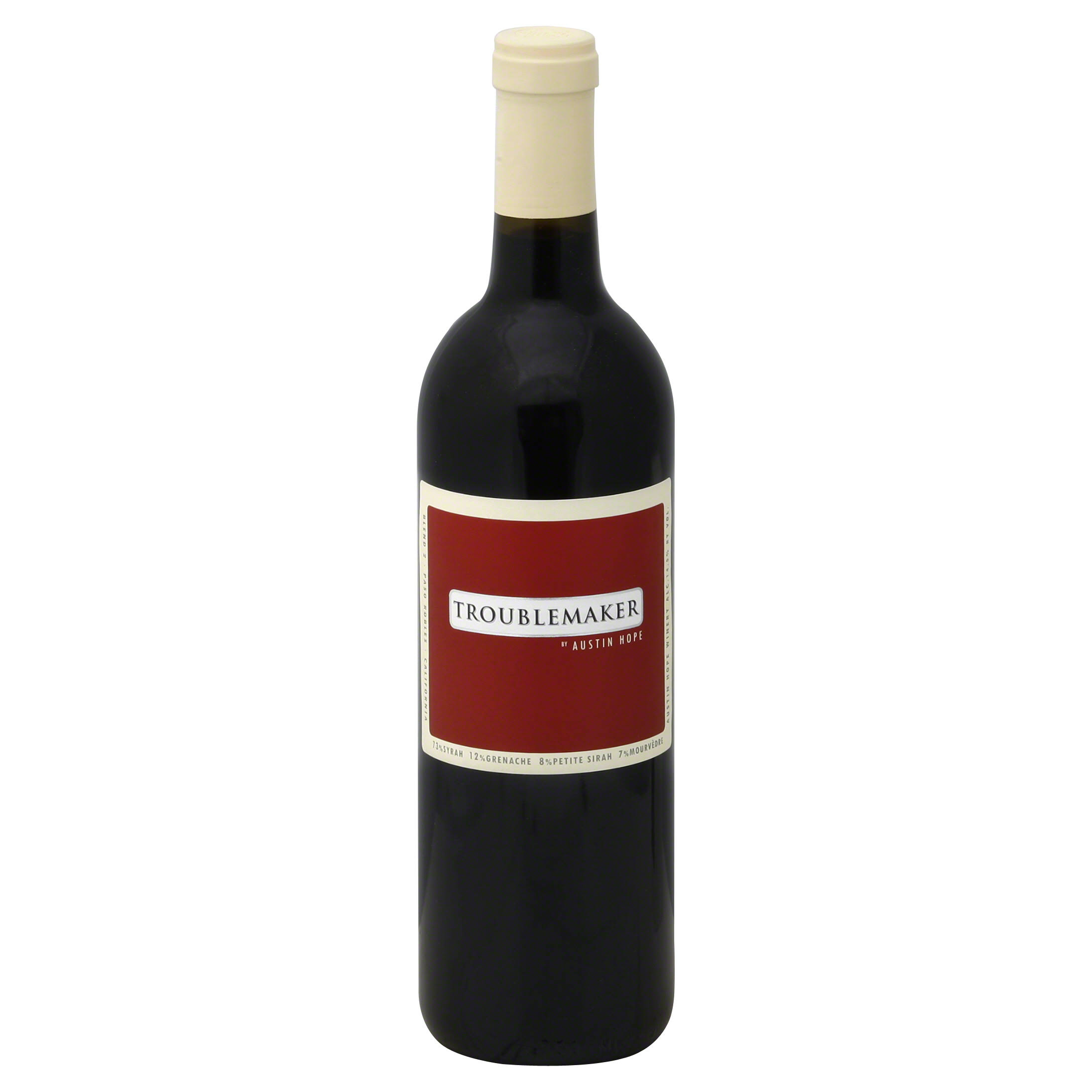Austin Troublemaker, Blend 2, Paso Robles, California - 750 ml