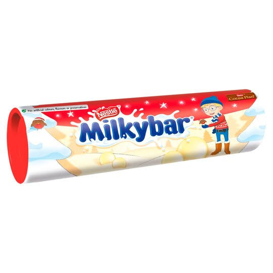 Nestle Milky Bar Button Tube - 92g