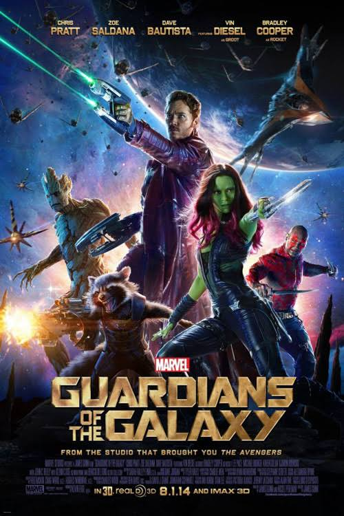 Guardians of the Galaxy 2014 Full Movie Download BluRay 480p And 720p