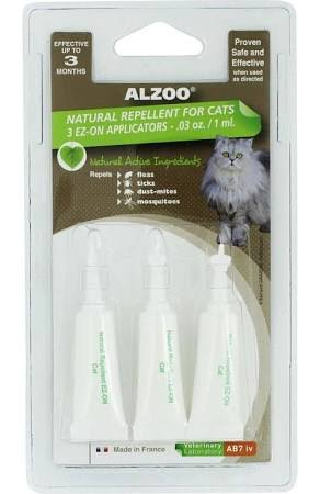 Alzoo Natural Flea & Tick Spot on Repellent