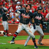 Braves rally in ninth against Cardinals' closer for a 2-1 lead in the NLDS
