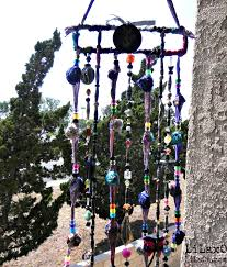 Gypsy Home Decor Nz by Mobile Suncatcher Chimes Home Garden Decor Beads And By Lilaxo