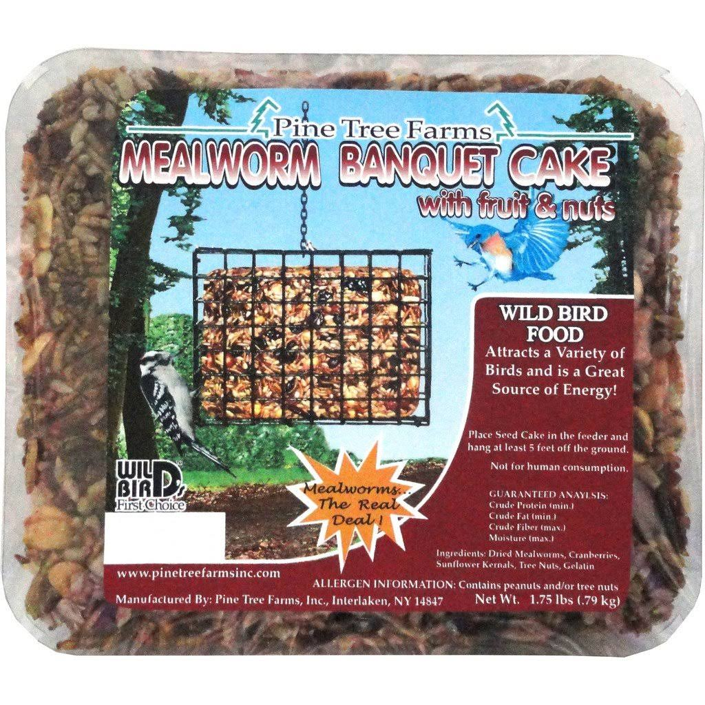 Pine Tree Farms Mealworm Banquet Seed Cake - Large