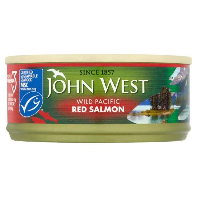 John West Red Salmon 105 G