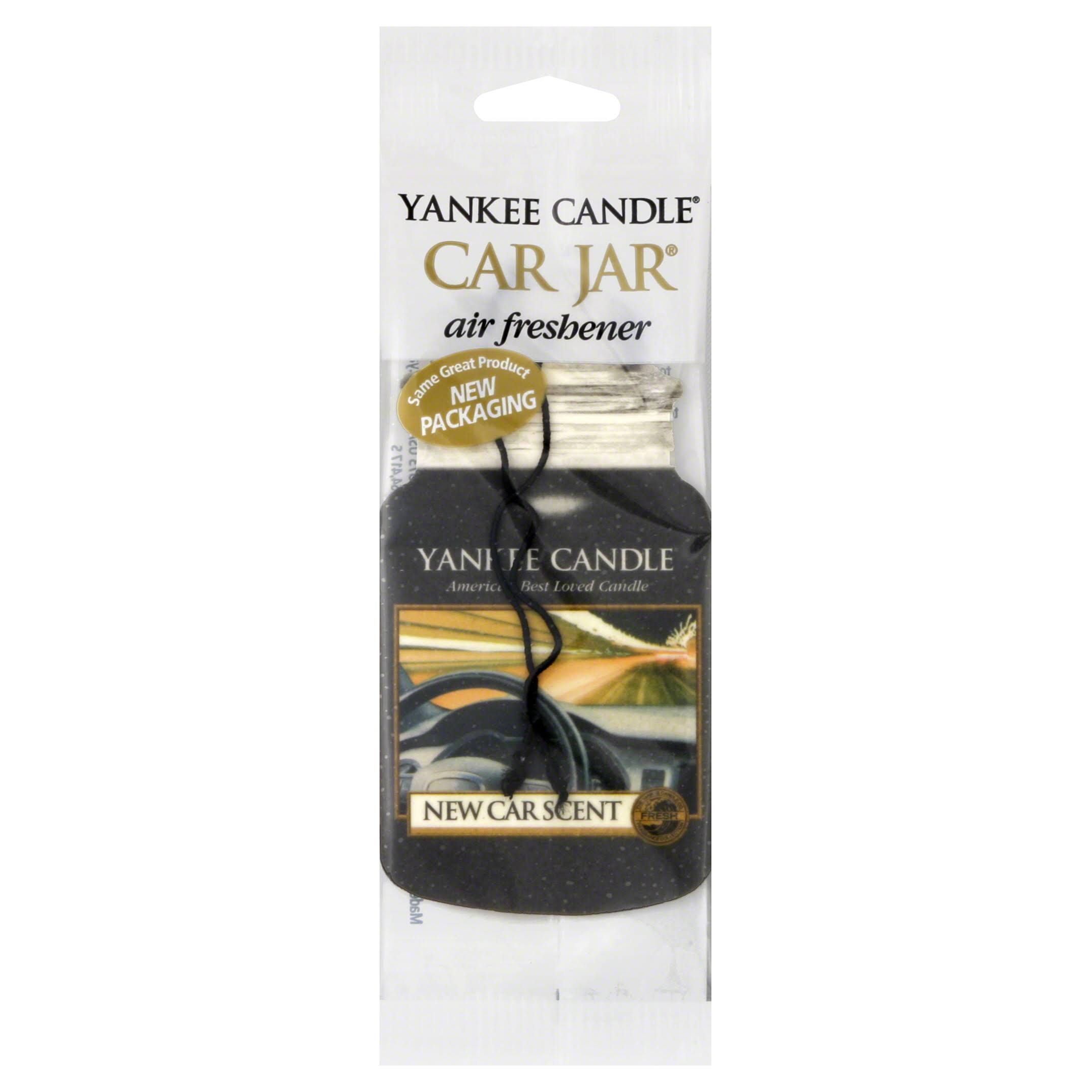 Yankee Candle New Car Scent Car Jar